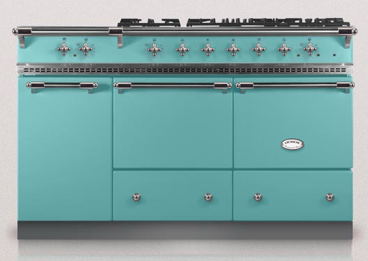 Coral Blue Lacanche Kitchen Oven