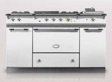 White Fontenay Lacanche Kitchen range oven