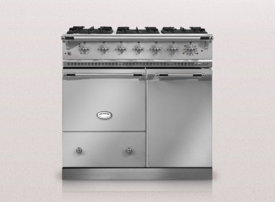 Silver lacanche kitchen range