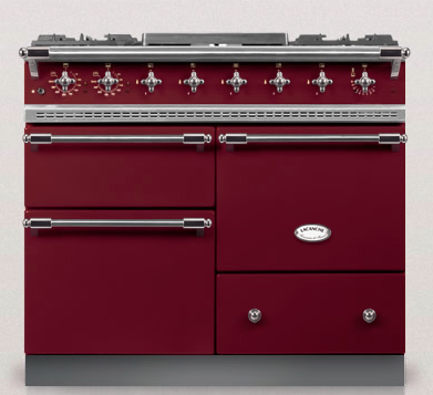 Burgundy Red Chagny Lacanche Oven