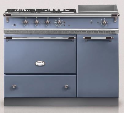 Light blue chambertin lacanche oven