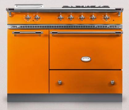 Orange lacanche saulieu kitchen range