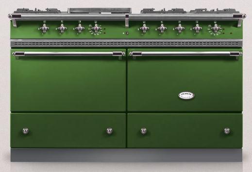 Dark Green Lacanche Kitchen range